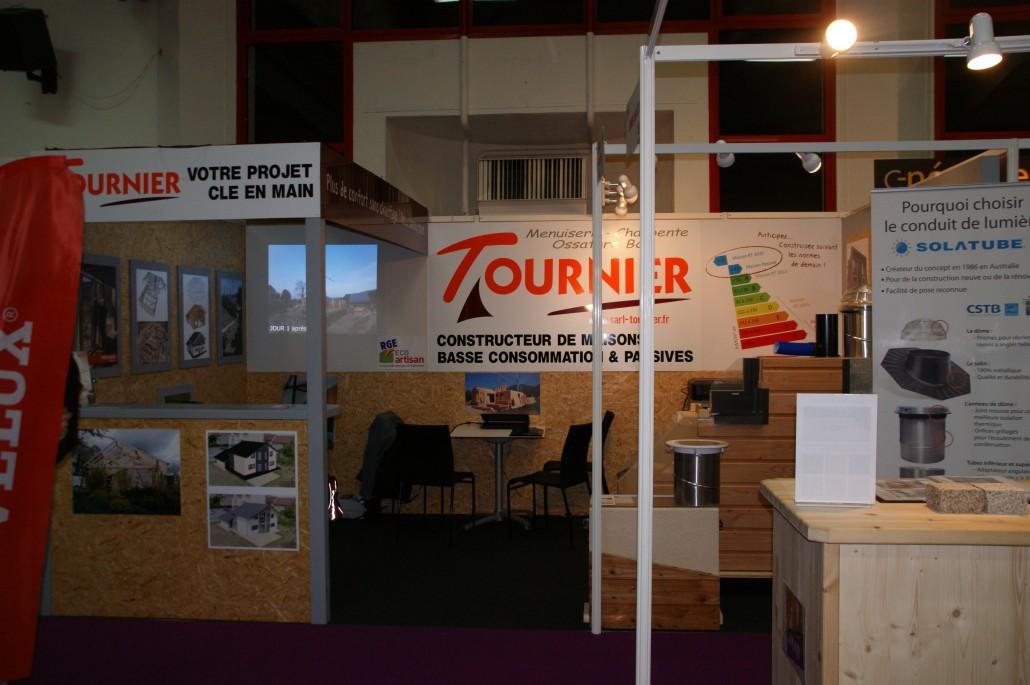 Stand Tournier construction bois