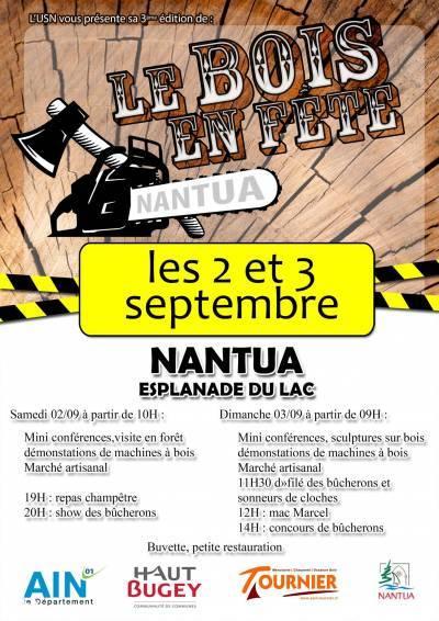 fête du bois Nantua - SARL TOURNIER